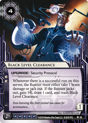 Android Netrunner Black Level Clearance Image