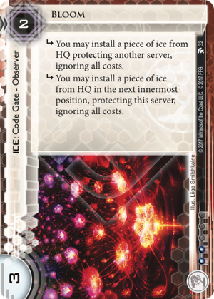 Android Netrunner Bloom Image