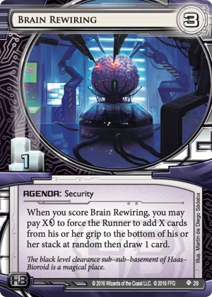 Android Netrunner Brain Rewiring Image