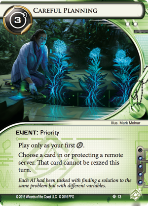 Android Netrunner Careful Planning Image