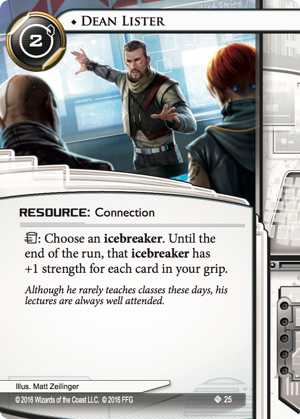 Android Netrunner Dean Lister Image