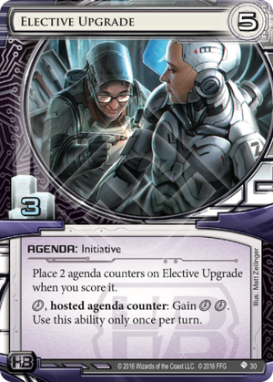 Android Netrunner Elective Upgrade Image