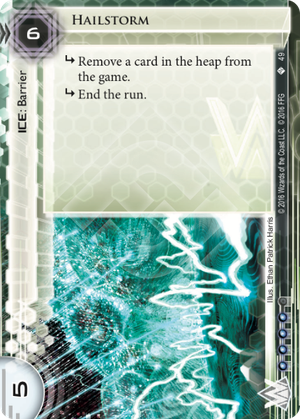 Android Netrunner Hailstorm Image