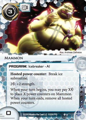 Android Netrunner Mammon Image