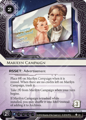 Android Netrunner Marilyn Campaign Image