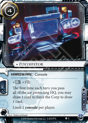 Android Netrunner Polyhistor Image