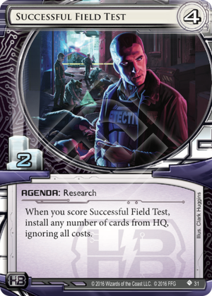 Android Netrunner Successful Field Test Image