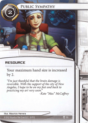 Android Netrunner Public Sympathy Image