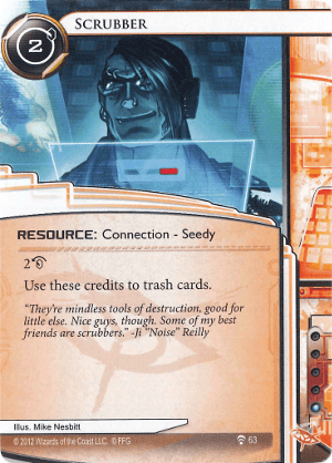 Android Netrunner Scrubber Image