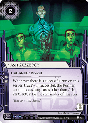 Android Netrunner Ash 2X3ZB9CY Image