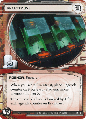 Android Netrunner Braintrust Image