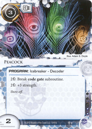 Android Netrunner Peacock Image
