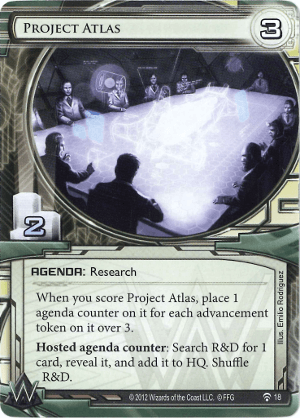 Android Netrunner Project Atlas Image