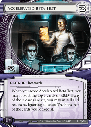 Android Netrunner Accelerated Beta Test Image