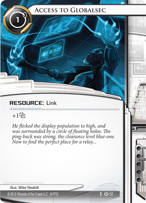 Android Netrunner Access to Globalsec Image