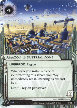 Android Netrunner Amazon Industrial Zone Image