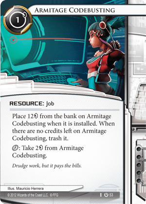 Android Netrunner Armitage Codebusting Image