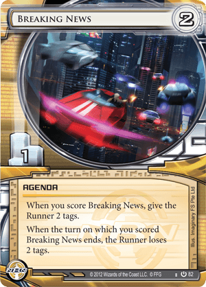 Android Netrunner Breaking News Image
