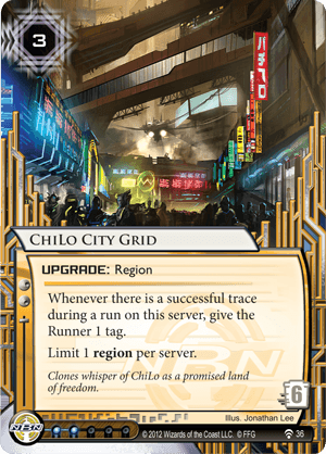 Android Netrunner ChiLo City Grid Image
