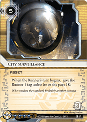 Android Netrunner City Surveillance Image