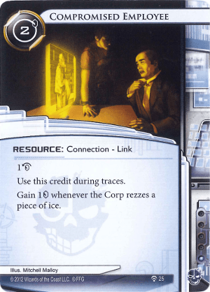 Android Netrunner Compromised Employee Image