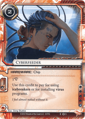 Android Netrunner Cyberfeeder Image