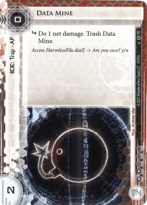 Android Netrunner Data Mine Image