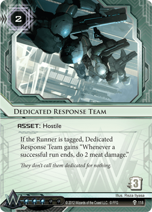 Android Netrunner Dedicated Response Team Image