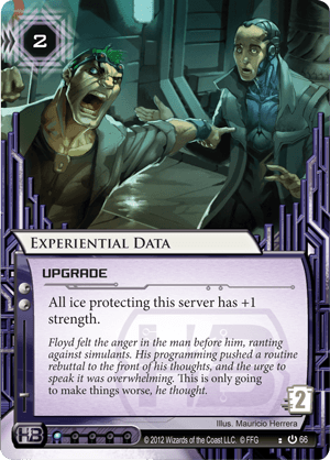 Android Netrunner Experiential Data Image