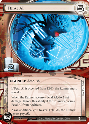 Android Netrunner Fetal AI Image
