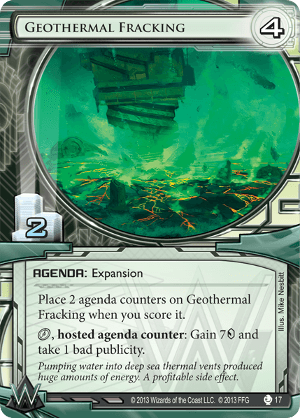 Android Netrunner Geothermal Fracking Image