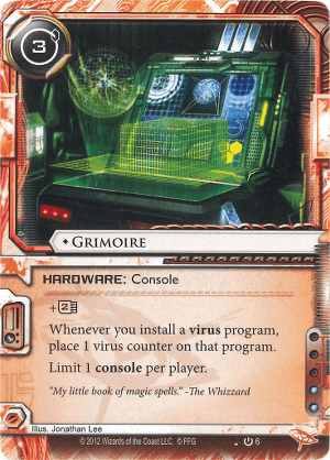 Android Netrunner Grimoire Image