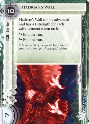 Android Netrunner Hadrian's Wall Image