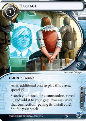 Android Netrunner Hostage Image