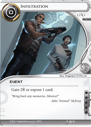 Android Netrunner Infiltration Image