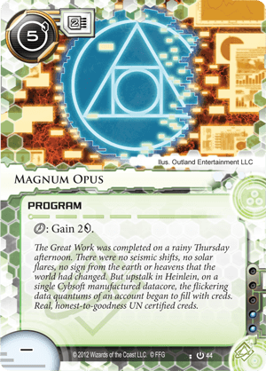 Android Netrunner Magnum Opus Image