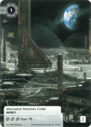 Android Netrunner Melange Mining Corp. Image