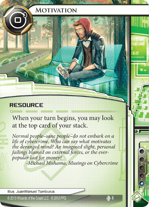 Android Netrunner Motivation Image