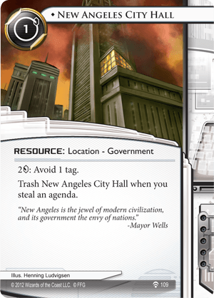Android Netrunner New Angeles City Hall Image