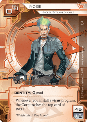 Android Netrunner Noise: Hacker Extraordinaire Image