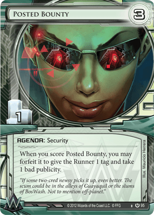 Android Netrunner Posted Bounty Image