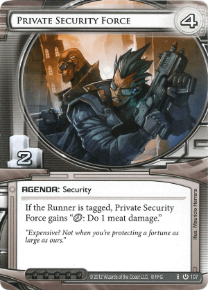 Android Netrunner Private Security Force Image