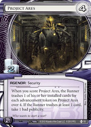 Android Netrunner Project Ares Image