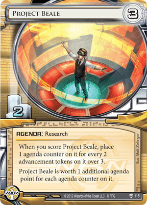 Android Netrunner Project Beale Image