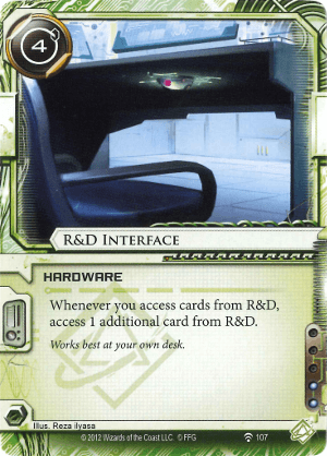 Android Netrunner R&D Interface Image