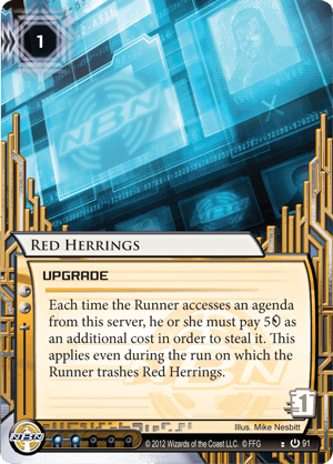 Android Netrunner Red Herrings Image