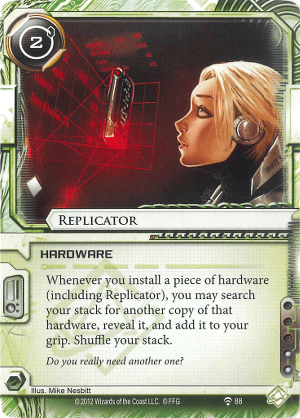 Android Netrunner Replicator Image