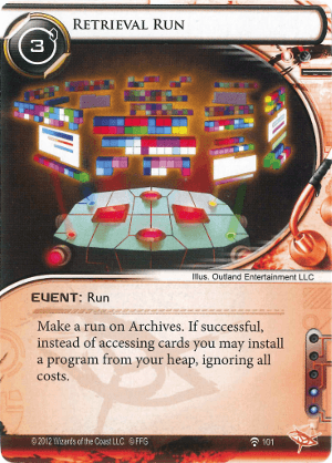 Android Netrunner Retrieval Run Image