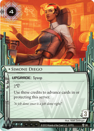 Android Netrunner Simone Diego Image