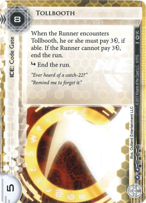 Android Netrunner Tollbooth Image